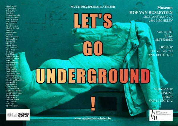 Affiche let's go underground